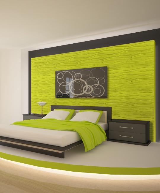 Peel & Stick Plastic Wall Panel - Twig Design. 12 Panels. 32sf