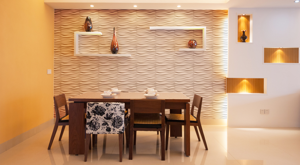 Wall Dimension Transform Your Living Space PVC 3D Wall