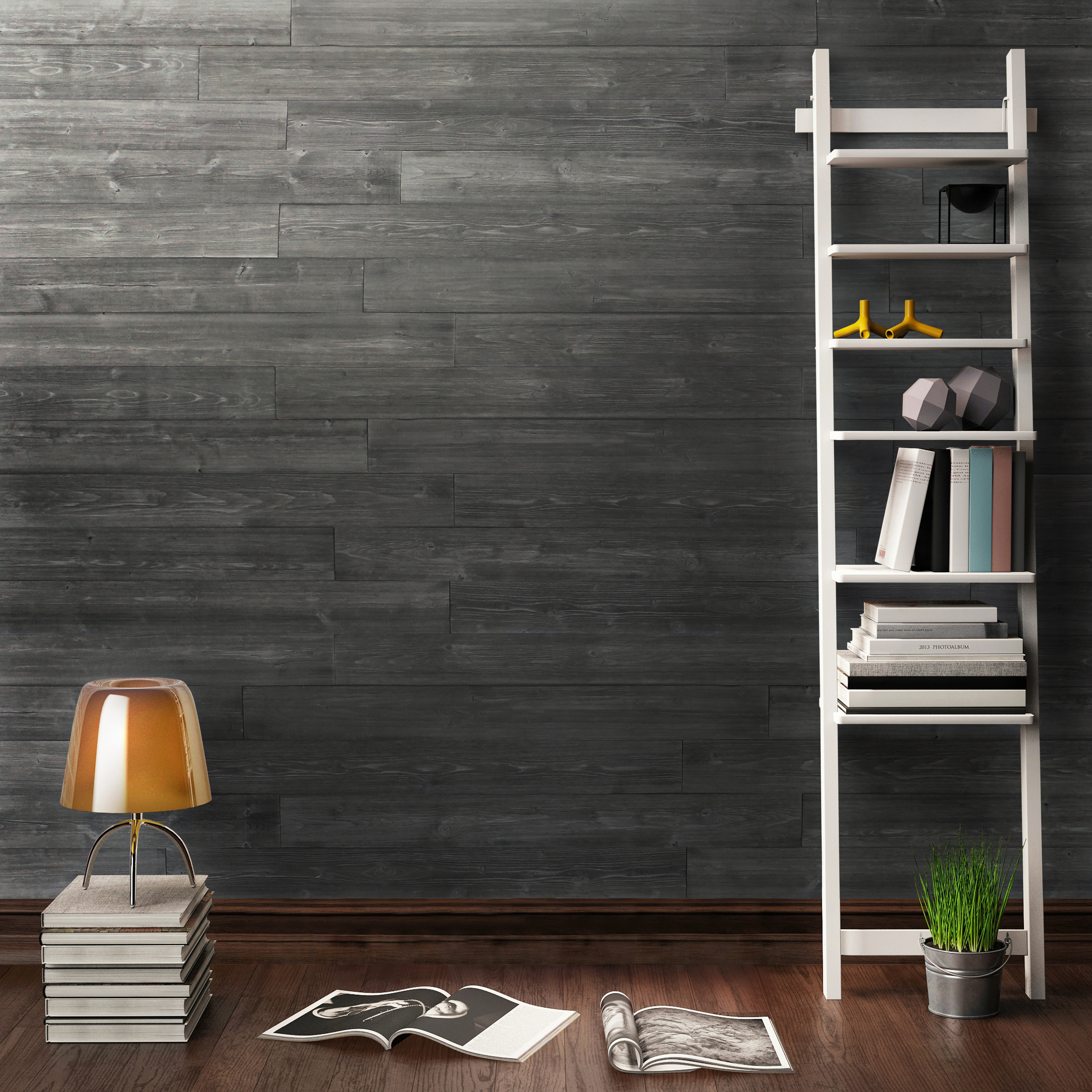 Peel Amp Stick Diy Real Wood Wall Plank Or Panel Rustic