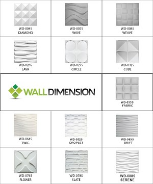 3D Wall Panel Designer Sample Set