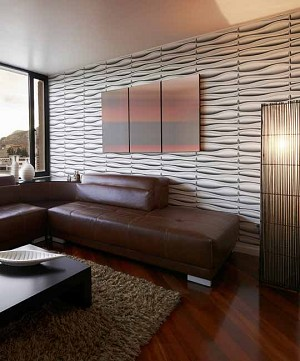 3D Wall Panel - LAVA | P/N WD-026C - 12 Panels