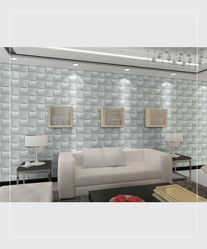 peel stick 3d wall panel weave design 12 panels 32sf. Black Bedroom Furniture Sets. Home Design Ideas