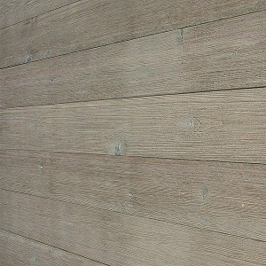 Peel & Stick DIY Real Wood Wall Plank or Panel - Rustic Light Grey. WP-012C