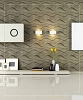 3D Wall Panel - GAPLESS WAVE| P/N WD-077C - 12 Panels
