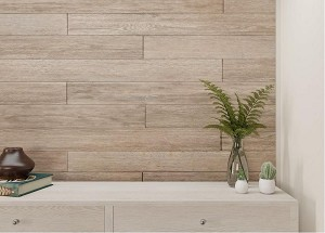 Rustic Light Grey|WP-012C|Peel & Stick DIY Rustic Weathered Shiplap Real Wood Wall Plank or Panel